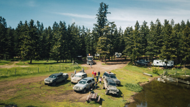Duffy Lake campsite
