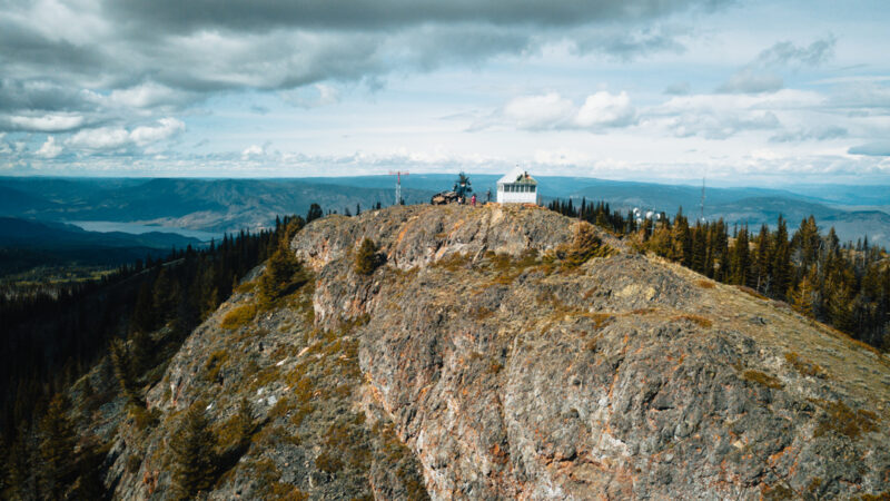 Greenstone Fire Lookout Tower | BC Overland Lady