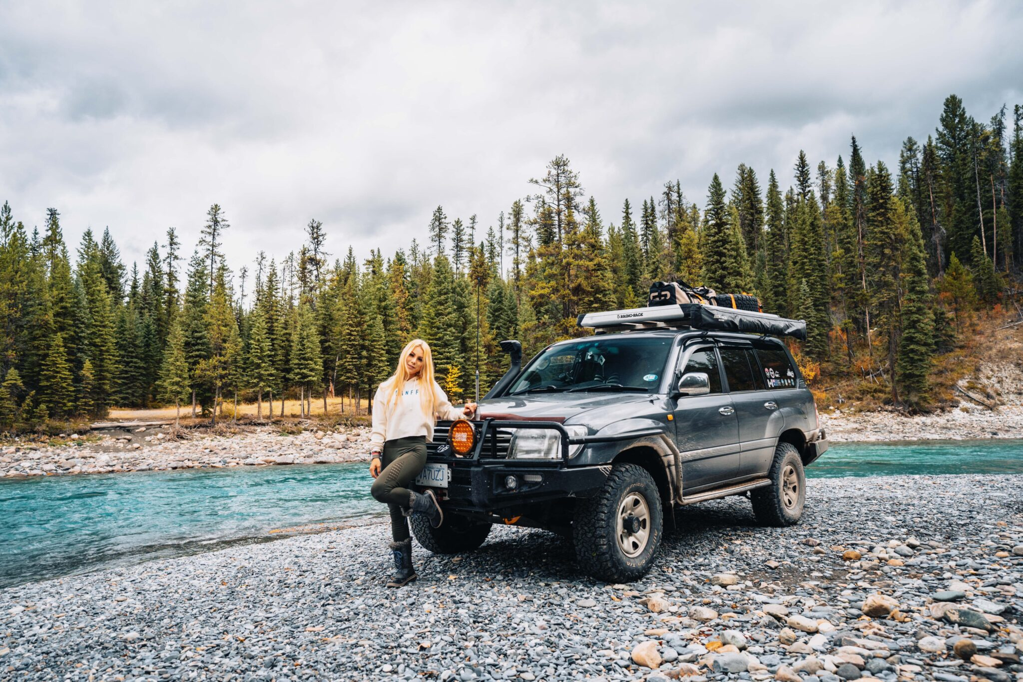 OverlandLady Rockies Banff 56 scaled | Overland Lady by Monique Song