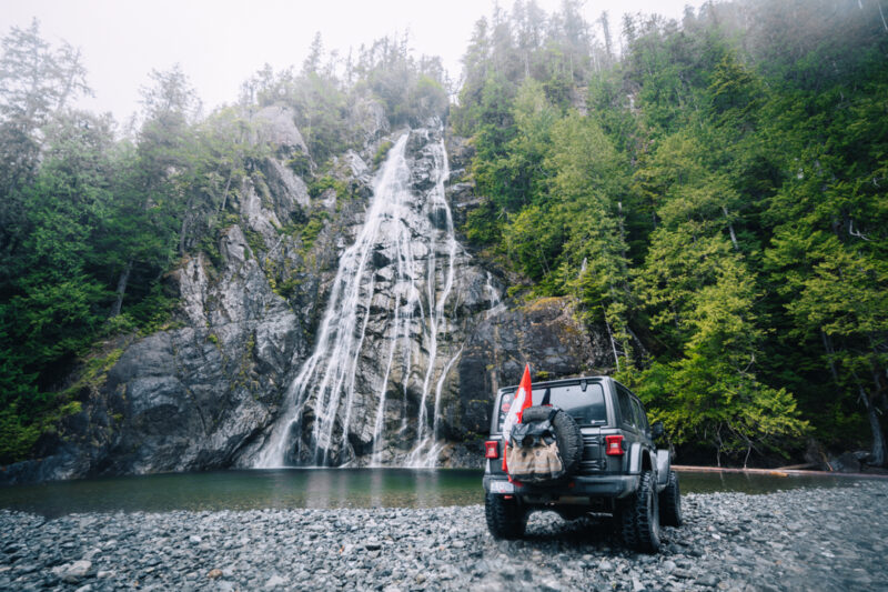 Virgin Falls Torino 6 | Overland Lady by Monique Song