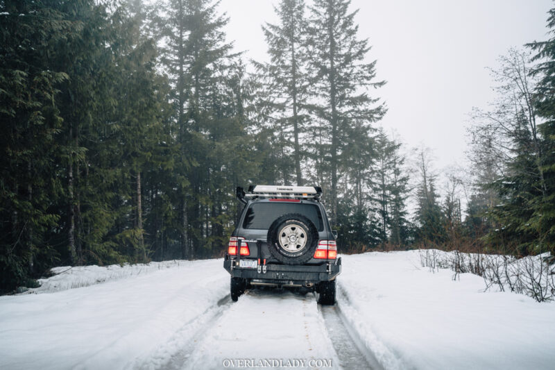 ChehalisLake Toyota Landcruiser 100 15 | Overland Lady by Monique Song