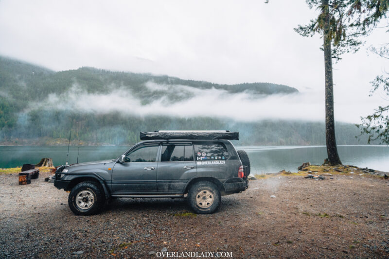 ChehalisLake Toyota Landcruiser 100 4 | Overland Lady by Monique Song