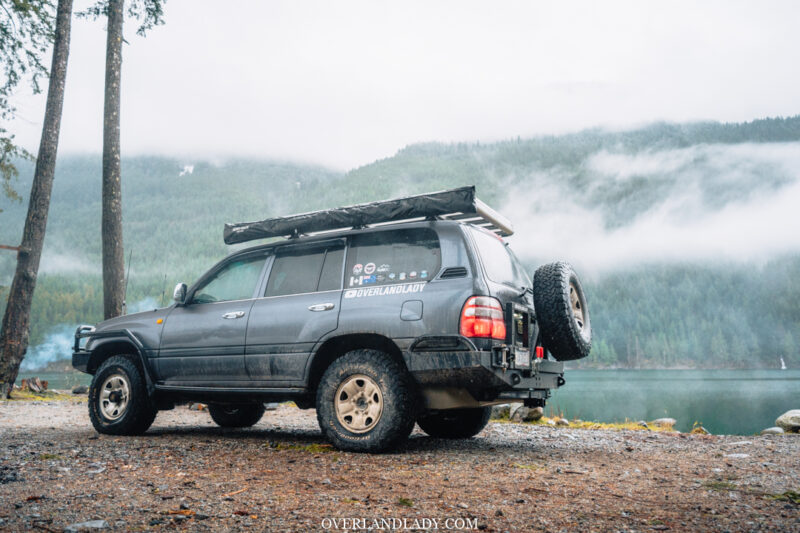 ChehalisLake Toyota Landcruiser 100 5 | Overland Lady by Monique Song