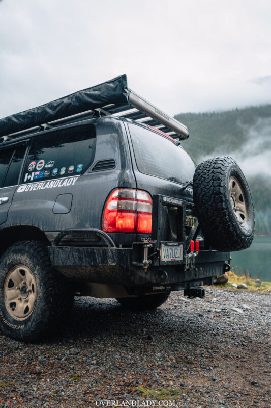 ChehalisLake Toyota Landcruiser 100 6 | Overland Lady by Monique Song