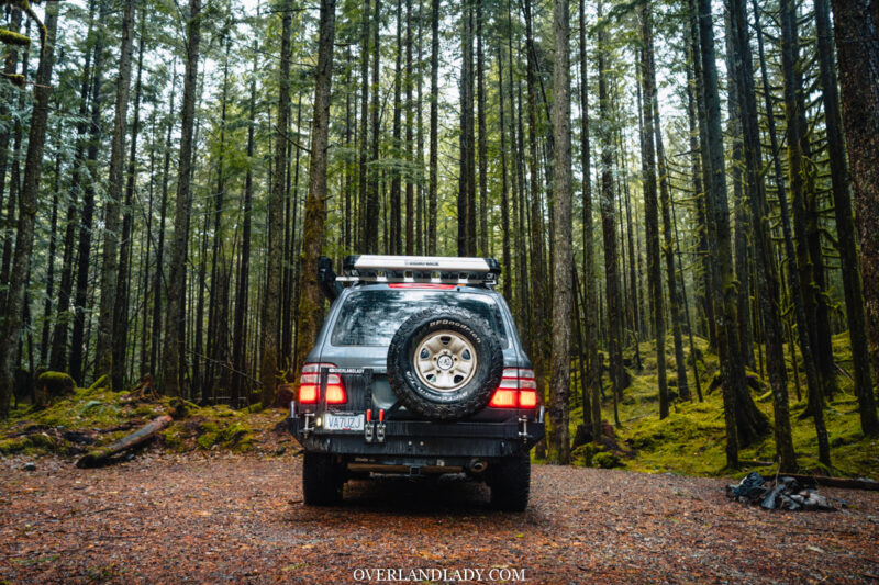 ChehalisLake Toyota Landcruiser 100 8 | Overland Lady by Monique Song