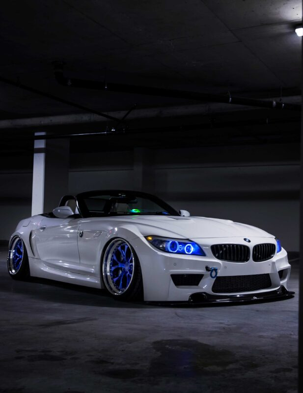 Hitomi Blue BMW Z4 4X5 | Overland Lady by Monique Song