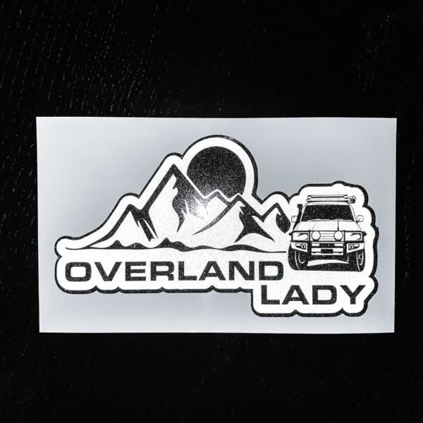 STICKER MOUNTAIN REFLECT 1 | Overland Lady by Monique Song