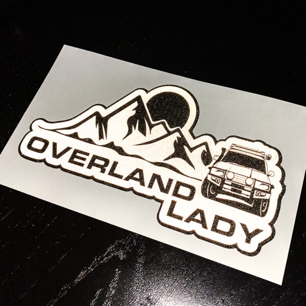 STICKER MOUNTAIN REFLECT 2 | Overland Lady by Monique Song