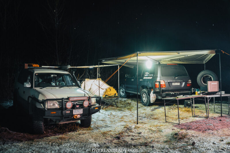 Winter Camping 7 | Overland Lady by Monique Song