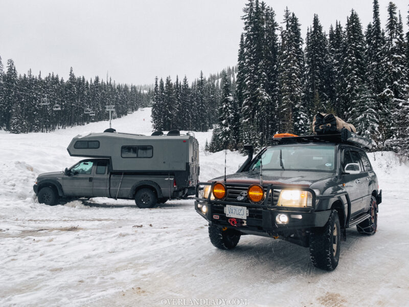 Snow Camp Landcruiser 100 series Rhino Rack 27 | Overland Lady by Monique Song
