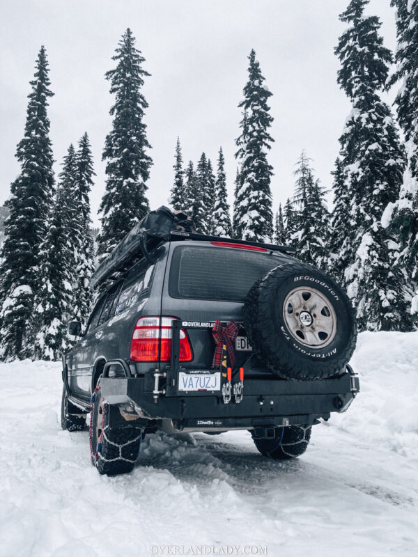 Snow Camp Landcruiser 100 series Rhino Rack 29 | Overland Lady by Monique Song