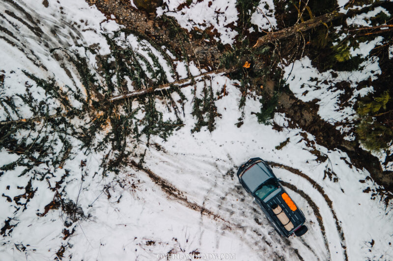 Snow Camp Landcruiser 100 series Rhino Rack 5 | Overland Lady by Monique Song