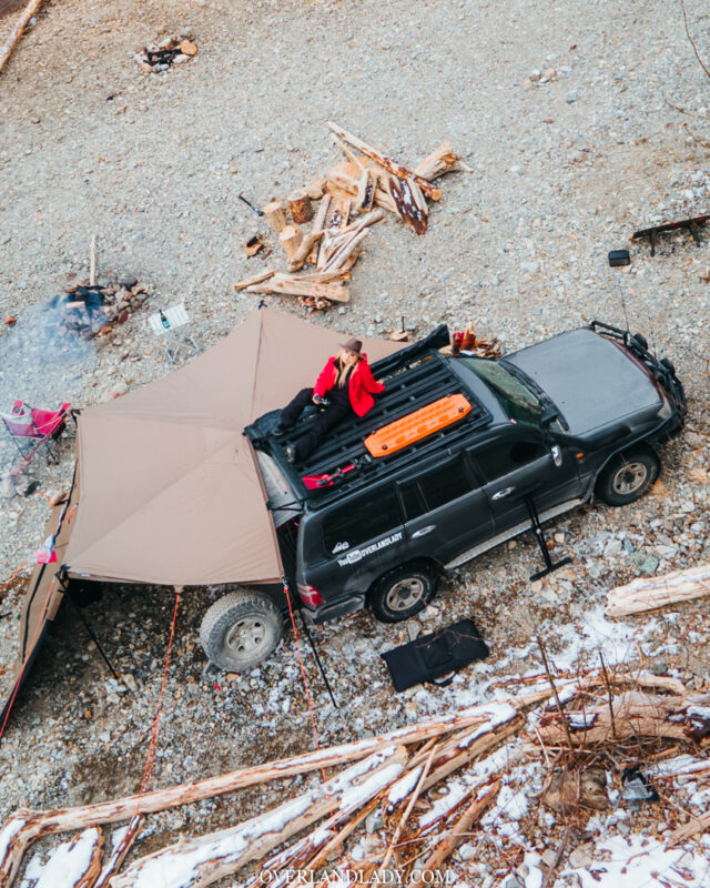 Chehalis North Camping Landcrusier 100 series Ram 17 | Overland Lady by Monique Song