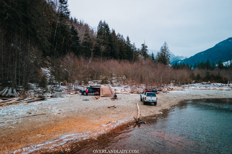 Chehalis North Camping Landcrusier 100 series Ram 6 | Overland Lady by Monique Song