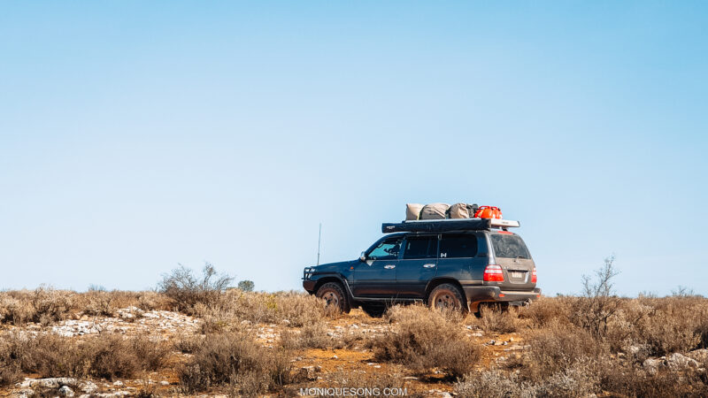 Landcruiser Nullabor Coast | Overland Lady by Monique Song