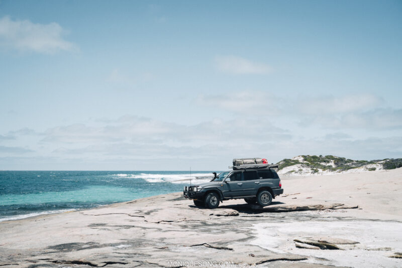 Landcruiser WA beach 4WD 10 | Overland Lady by Monique Song