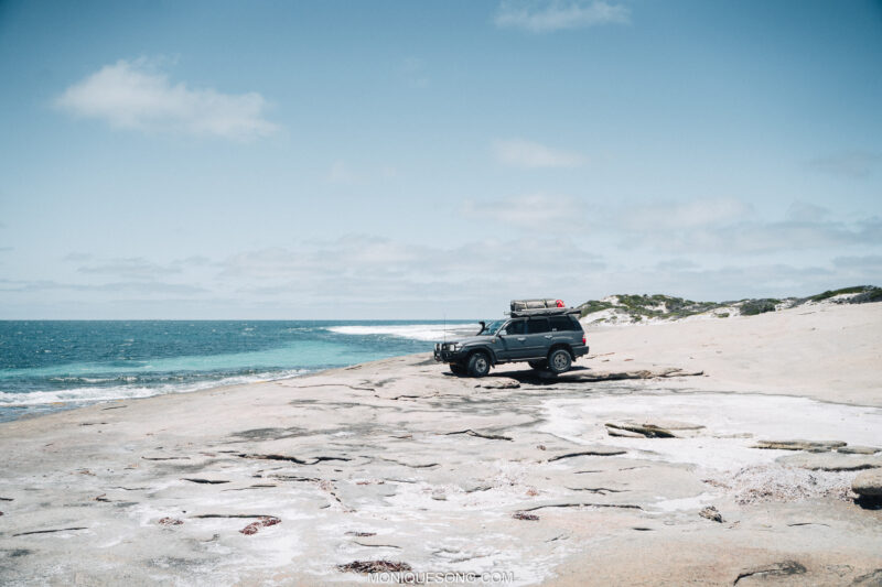 Landcruiser WA beach 4WD 11 | Overland Lady by Monique Song