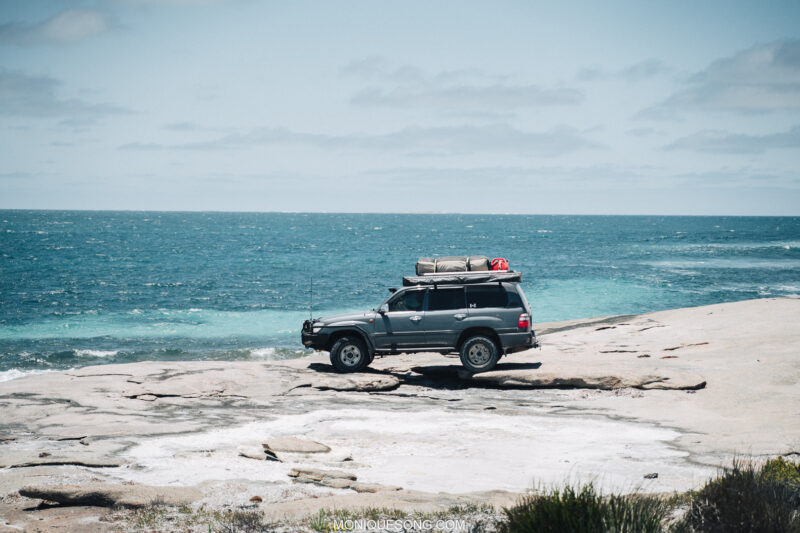 Landcruiser WA beach 4WD 13 | Overland Lady by Monique Song