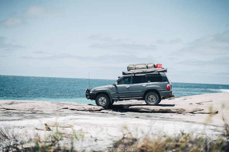 Landcruiser WA beach 4WD 14 | Overland Lady by Monique Song