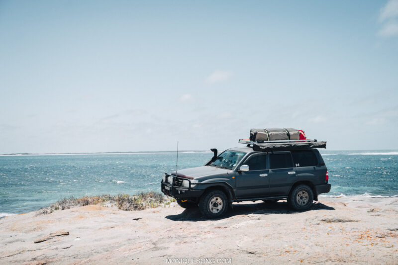 Landcruiser WA beach 4WD 15 | Overland Lady by Monique Song