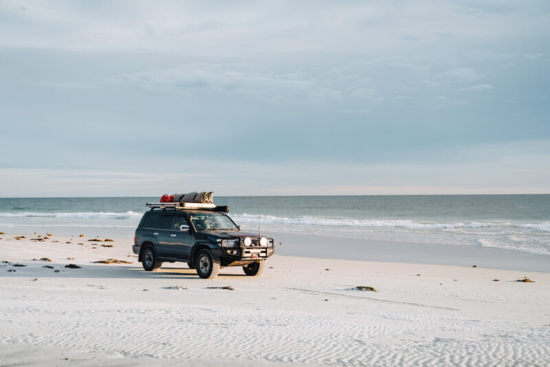 Landcruiser WA beach 4WD 3 | Overland Lady by Monique Song