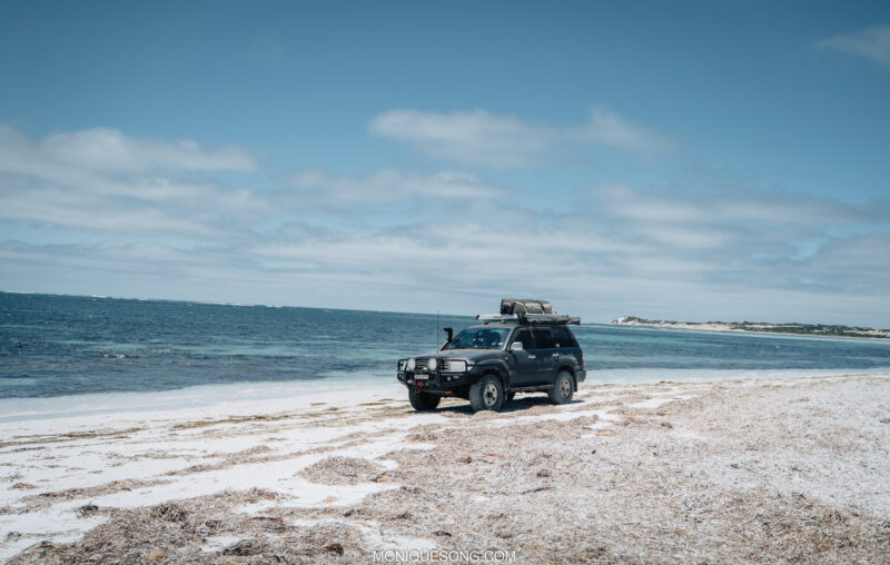 Landcruiser WA beach 4WD 4 | Overland Lady by Monique Song