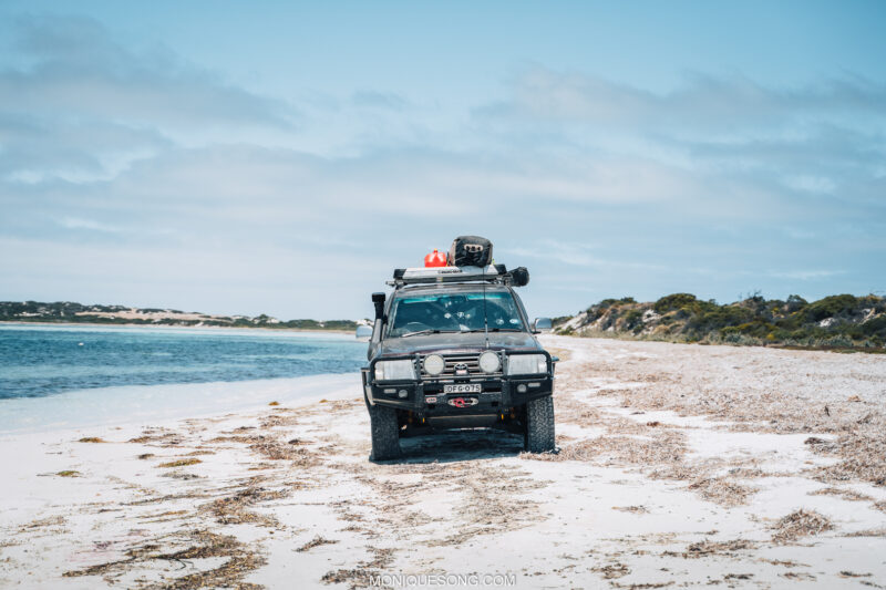 Landcruiser WA beach 4WD 5 | Overland Lady by Monique Song