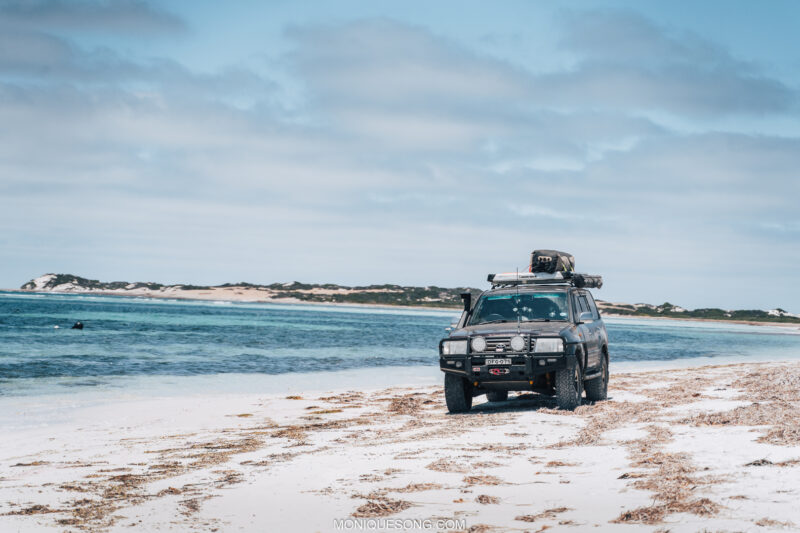 Landcruiser WA beach 4WD 6 | Overland Lady by Monique Song