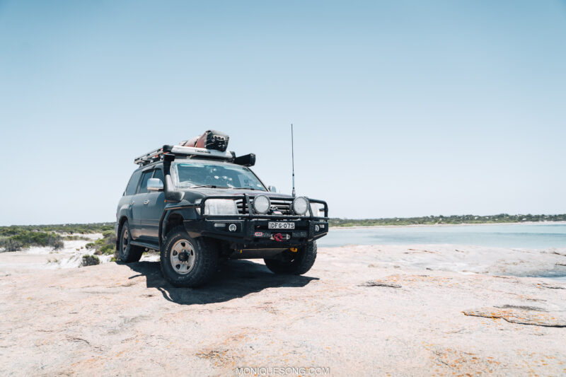 Landcruiser WA beach 4WD 7 | Overland Lady by Monique Song