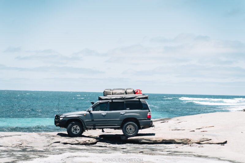 Landcruiser WA beach 4WD 9 | Overland Lady by Monique Song