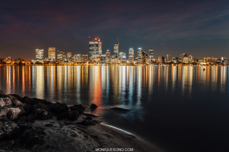 Perth WA night 7 | Overland Lady by Monique Song