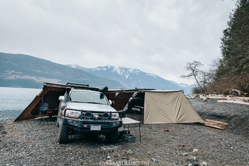 Toyota 4Runner Rhino Rack Awning | Overland Lady by Monique Song