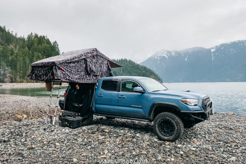 Toyota Tacoma Roof Top Tent | Overland Lady by Monique Song
