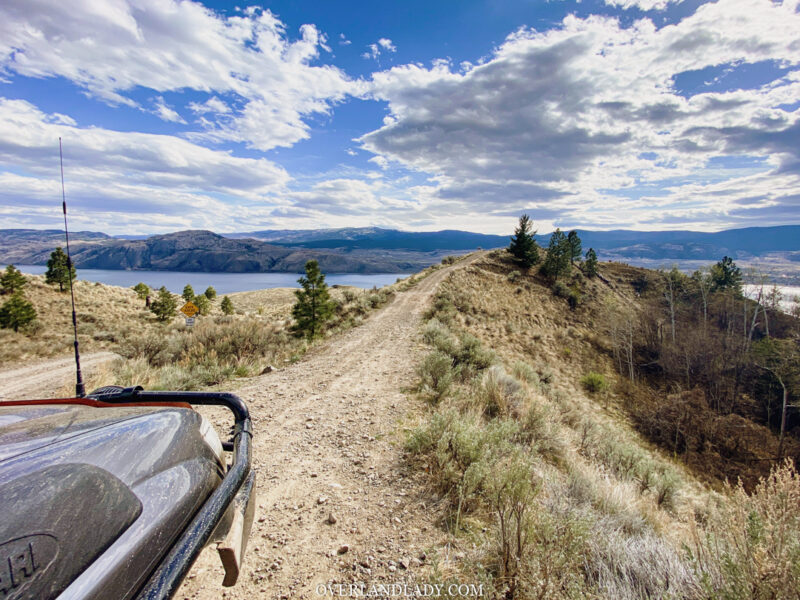 Overland Lady Kamloops Grassland 2 | Overland Lady by Monique Song