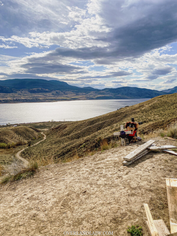 Overland Lady Kamloops Grassland 4 | Overland Lady by Monique Song