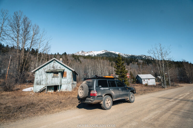 Overland Lady Landcruiser Ghost Town Solo 16 | Overland Lady by Monique Song