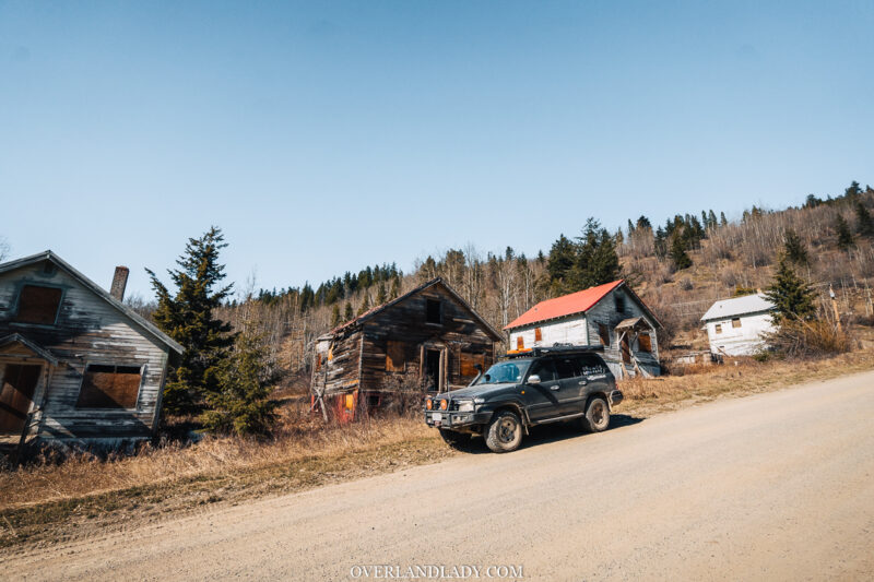 Overland Lady Landcruiser Ghost Town Solo 21 | Overland Lady by Monique Song