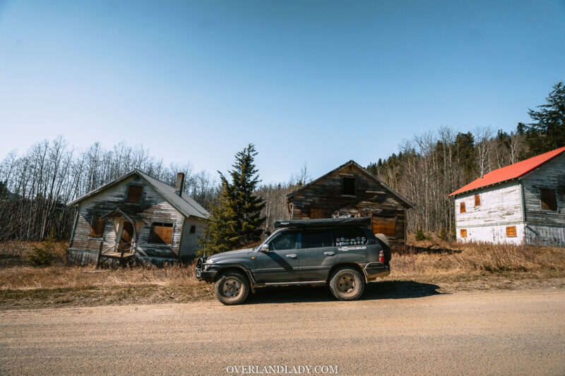 Overland Lady Landcruiser Ghost Town Solo 23 | Overland Lady by Monique Song
