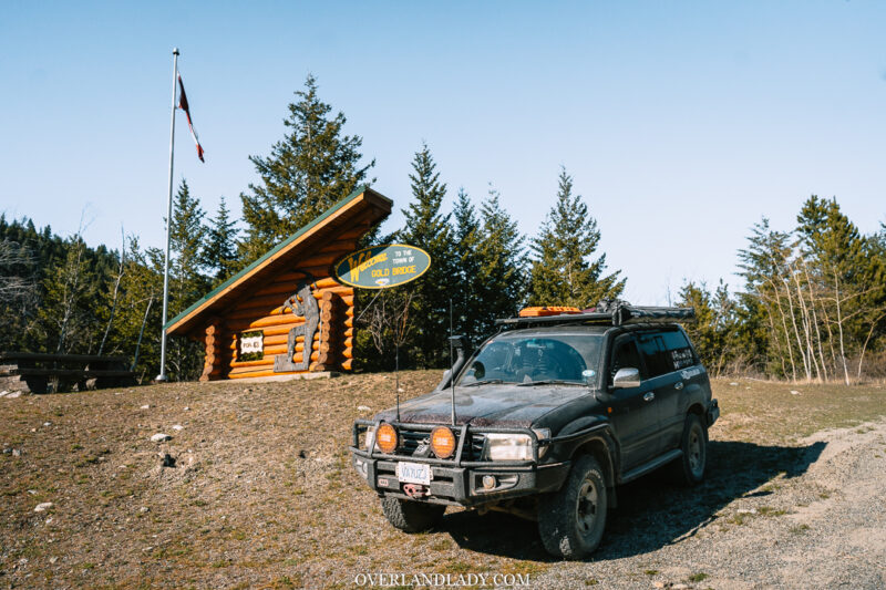 Overland Lady Landcruiser Ghost Town Solo 31 | Overland Lady by Monique Song