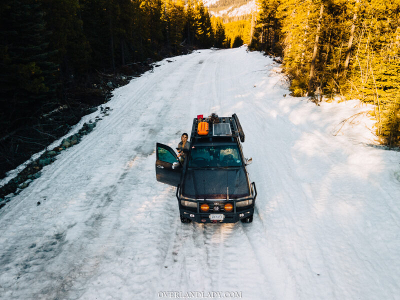 Overland Lady Landcruiser Ghost Town Solo 40 | Overland Lady by Monique Song