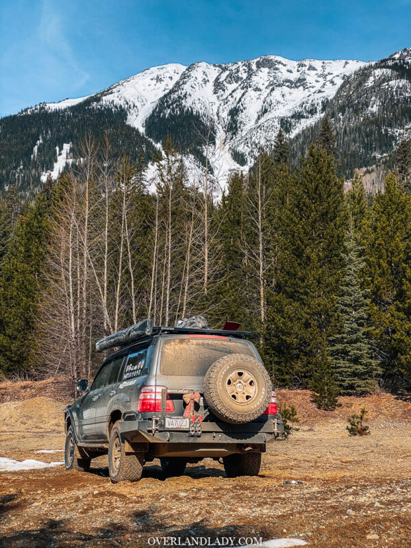 Overland Lady Landcruiser Ghost Town Solo 42 | Overland Lady by Monique Song