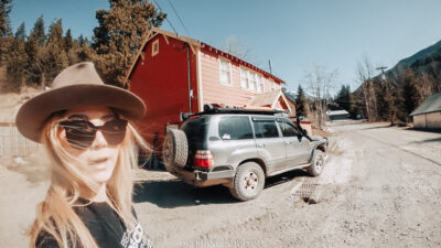 Overland Lady Landcruiser Ghost Town Solo 45 | Overland Lady by Monique Song