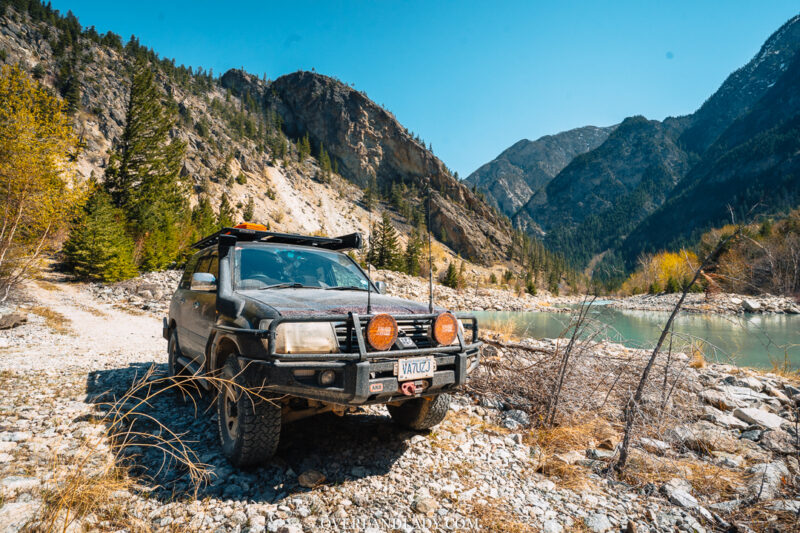 Overland Lady Landcruiser Ghost Town Solo 8 | Overland Lady by Monique Song